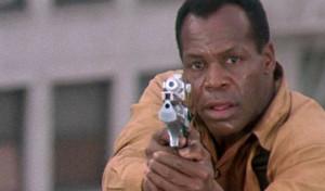 Danny Glover in Predator 2.