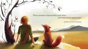 Antoine de Saint-Exupery quote Wallpaper