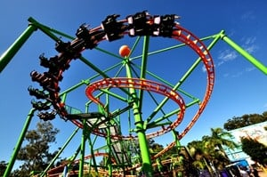 Rollercoasters are but one of the thrill-seeking adventures to be had ...