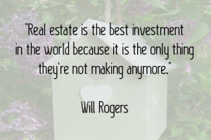 Great Quotes About Real Estate