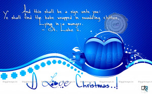 Biblical Christmas Quotes For Christmas Cards #1