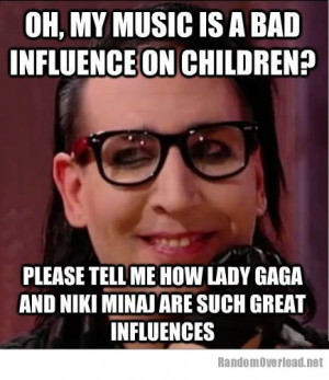 Condescending Marilyn Manson