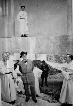 project of the Monastery of Sainte Marie de la Tourette, Le Corbusier ...