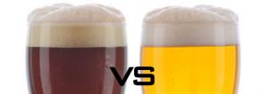 Lager vs Ale Beer