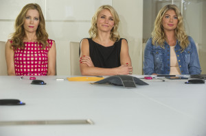 The Other Woman' film Kate (Leslie Mann), Carly (Cameron Diaz) and ...