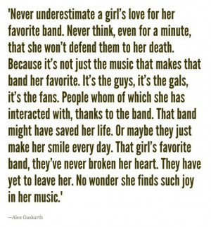 Never Underestimate A Girl's Love For Her Favorite Band. They Might ...