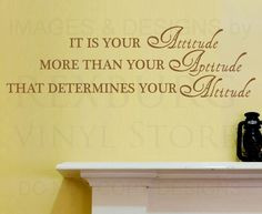 inspirational quotes for office walls | 10pcs/lot Wall Decal Sticker ...
