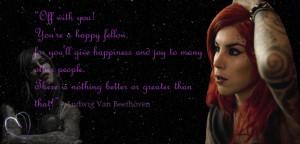 Kat Von D. by Juddess