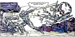 Ultron-8 through Ultron-12 - Marvel Comics - Avengers enemy
