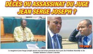 Haïti/Interpellation : Joseph Lambert menace de voter contre Me ...