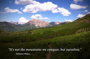 Edmund Hillary Quote