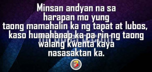 Minsan All About Tagalog Quotes