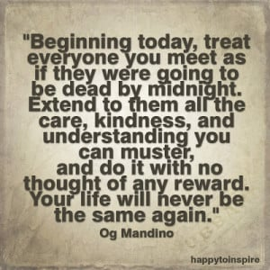 Quote of the Day: What if Everybody Will be Dead by Midnight?