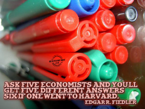 bussiness-quotes-graphics-Different Views Of Economists