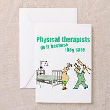 Physical Therapists Greeting Card for