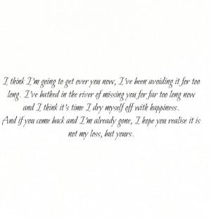 break up #get over you #get over it #heartbreak #move on