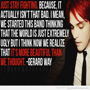My Chemical Romance Love Quotes