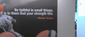 The official Mother Teresa website lists this quote among things that ...