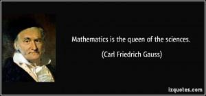More Carl Friedrich Gauss Quotes