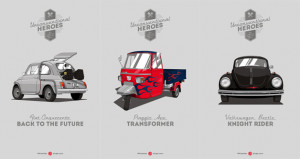 What if all famous movie cars had to be cheap?