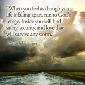 Faith quote-Pastor John Hagee