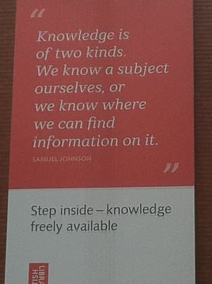 Samuel johnson quotes sayings knowledge information