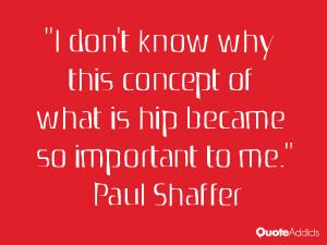 Paul Shaffer