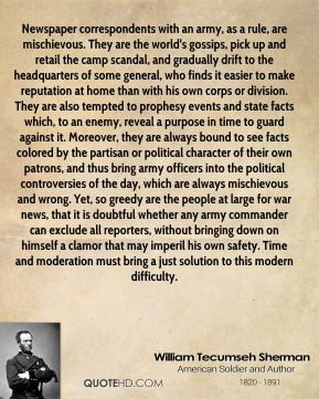 William Tecumseh Sherman Quotes