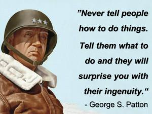General George Patton Leadership