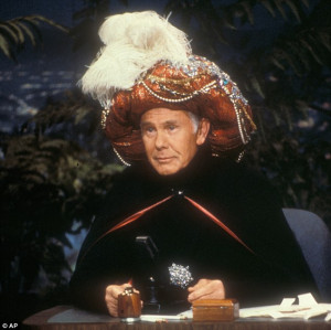 The Nation: In this undated photo provided by NBC, Johnny Carson