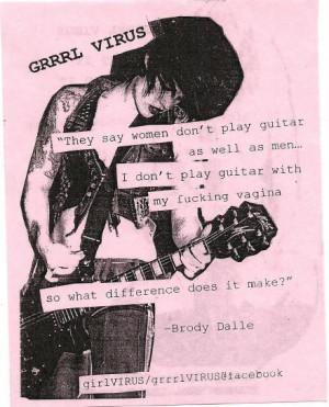 ... grrrl riot, grrrl virus, guitar, hot, music, punk, riot grrrl, women