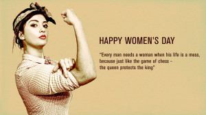 Inspirational & Motivational Women's Day Quotes