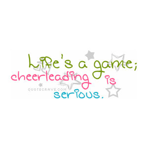 Cheerleading Quote Graphics, Cute Cheerleading Quote Graphics, Cheerle ...