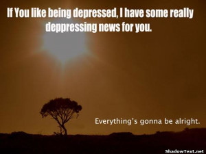 If You Like Being Depressed