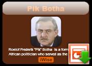 Download Pik Botha Powerpoint