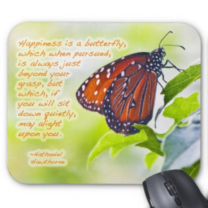 Butterfly Inspirational Photo Mousepad 2