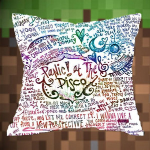 Panic-at-the-disco Best Pillow Cover For You: Pillows Covers, Pillows ...