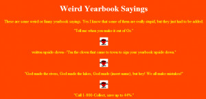 The Huffington Post – The Most Ridiculous Senior Yearbook Quotes