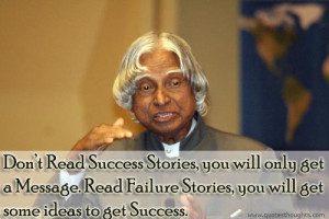 Motivational Quotes-Thoughts-Inspirational-Dr. APJ Abdul Kalam-Success ...