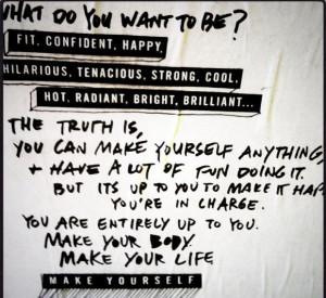 Fit. Confident. Happy. Motivational Mantras