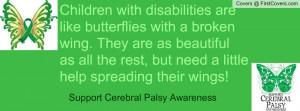 Cerebral Palsy Awareness Facebook Covers
