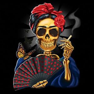 Frida Catrina Skull – T-Shirt