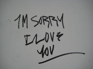love you, love, quote, sorry, typography