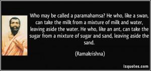 More Ramakrishna Quotes