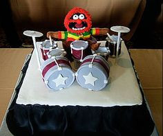 Birthday cake this year please? Animal from the Muppets on drums ...