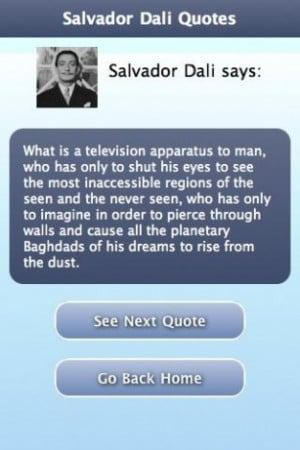 View bigger - Salvador Dali Quotes for Android screenshot