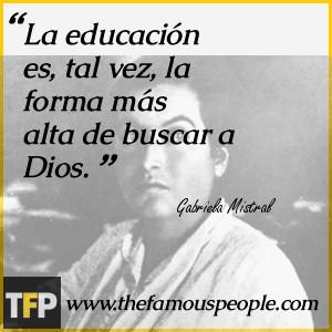 Gabriela Mistral Biography