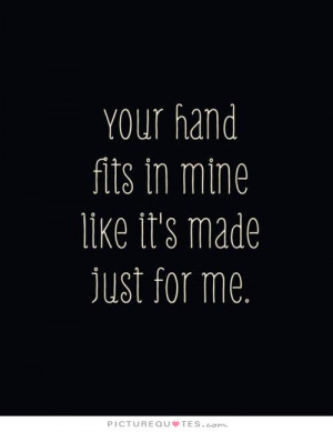 Cute Quotes Cute Love Quotes Holding Hands Quotes