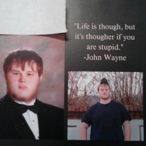 Tags: Most Inspiring Senior Yearbook Quotes , High School Graduates