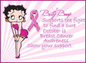 Betty Boop Breast Cancer